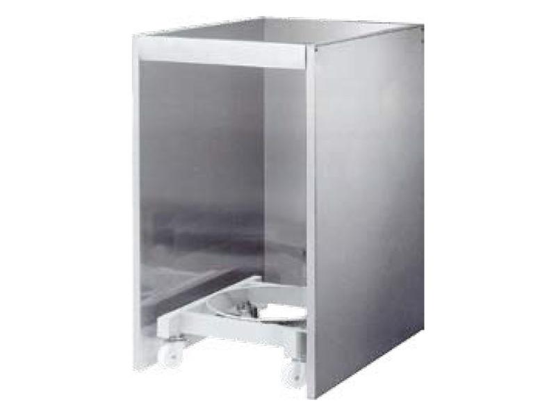 Gas cylinder floor cabinet