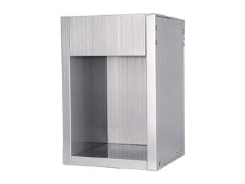 Double assembled cabinet