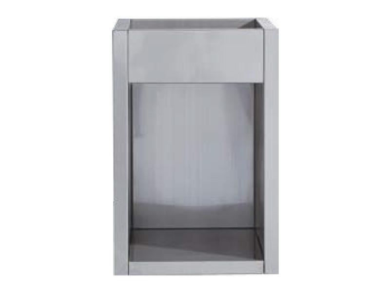Single welded cabinet