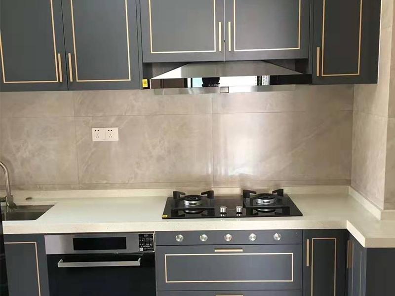 Acrylic aluminum alloy cabinet